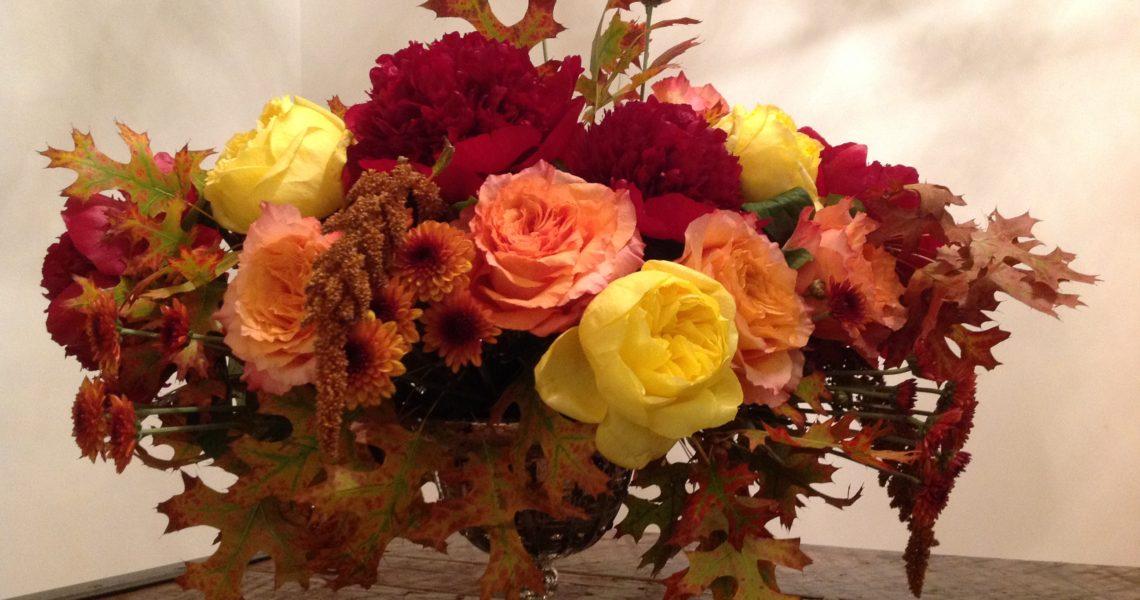 Springtime Footed Vase