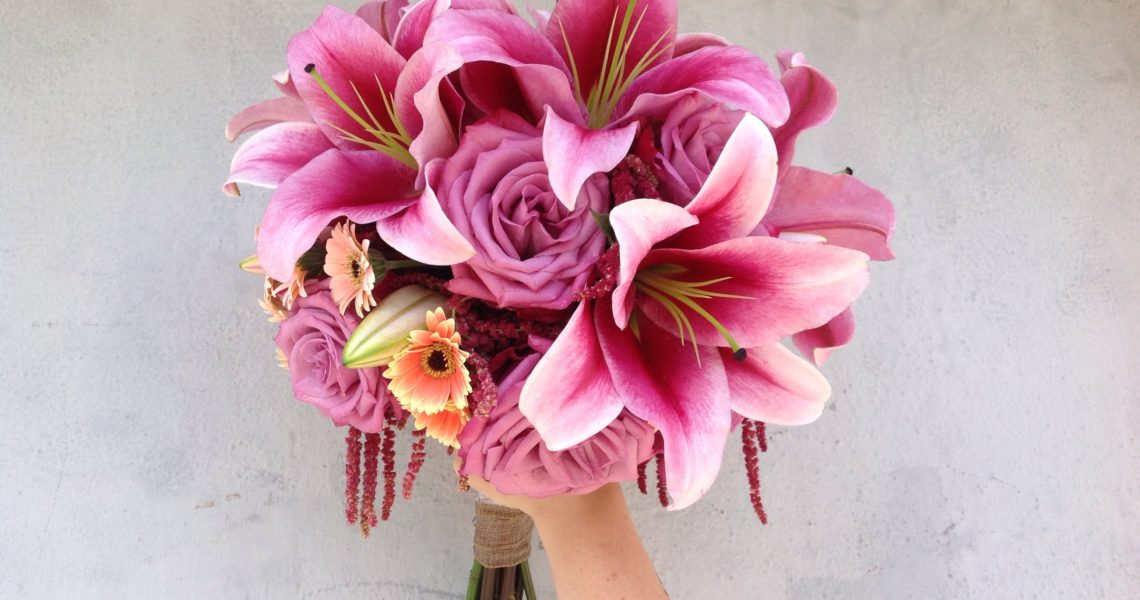 Lily Bride Bouquet