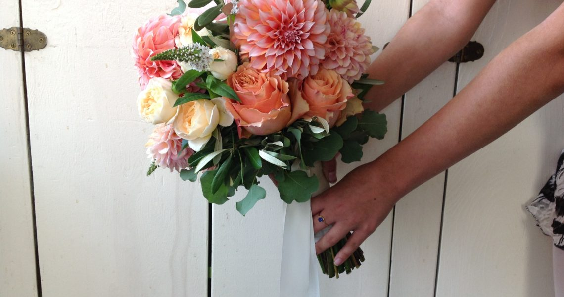 Dahlia Bride Bouquet