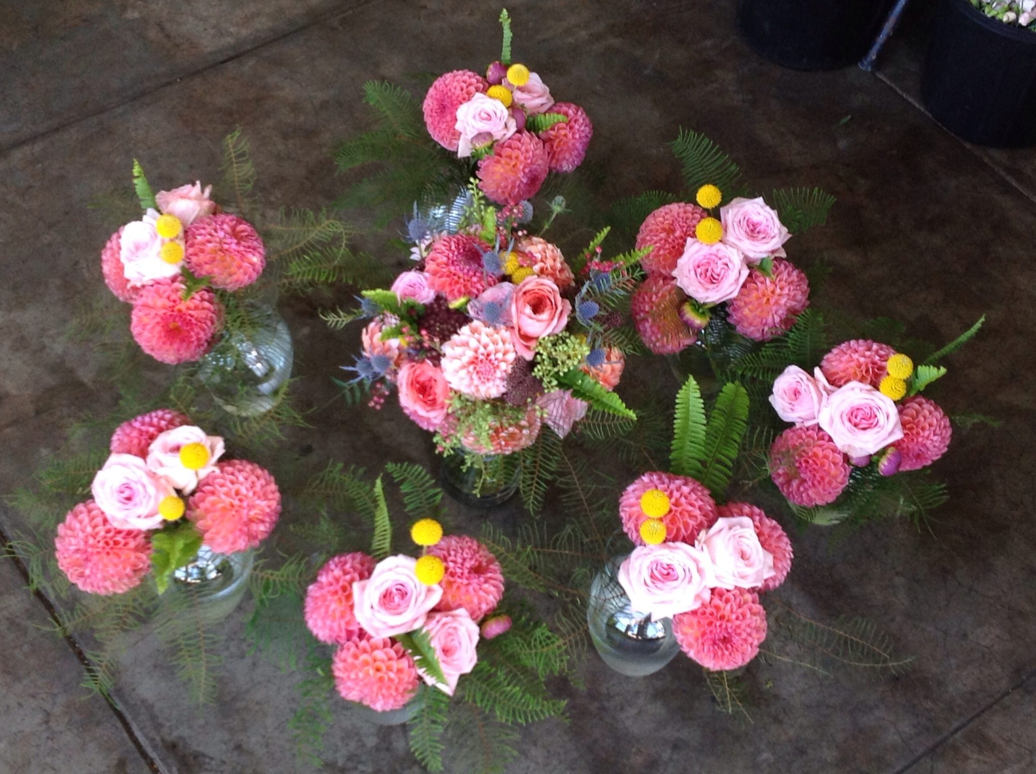 bridal flowers for the ladies.
