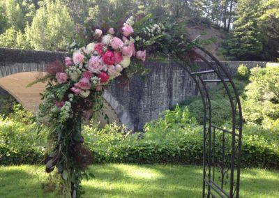 Peony Wedding  Arbor