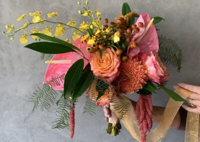 NeoTropical WabiSabi Bride Bouquet